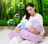 Multifunctional Detachable Nursing Pillow Breastfeeding Infant Baby Boppy Pillow Crawling Sitting Learning Pillow
