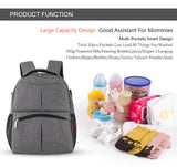 In2 Backpack Diaper Bag Large Capacity Maternity Bag
