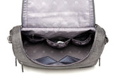 CD Designer Messenger Bag Diaper Bag - 2 Plus 1 Baby