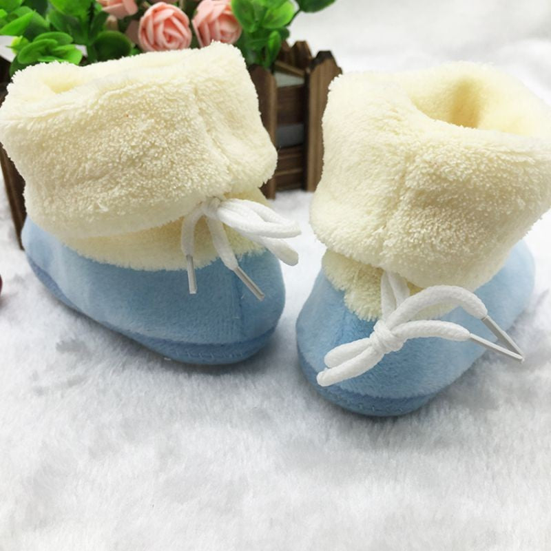 Plush First Walkers Infant Toddler Boots