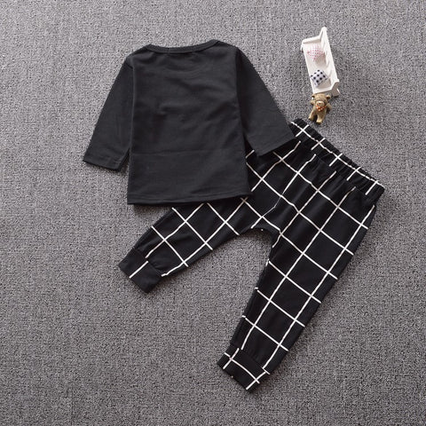 Like A Boss Long Sleeved T-shirt + Trousers Set