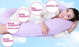 C-Shape Pregnancy Pillow - 2 Plus 1 Baby