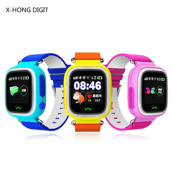 GPS Smart Baby Watch Anti-Lost Monitor with Wifi SOS Location Tracker for Kids - 2 Plus 1 Baby