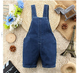 Denim Jeans One-piece Bear Playsuits - 2 Plus 1 Baby