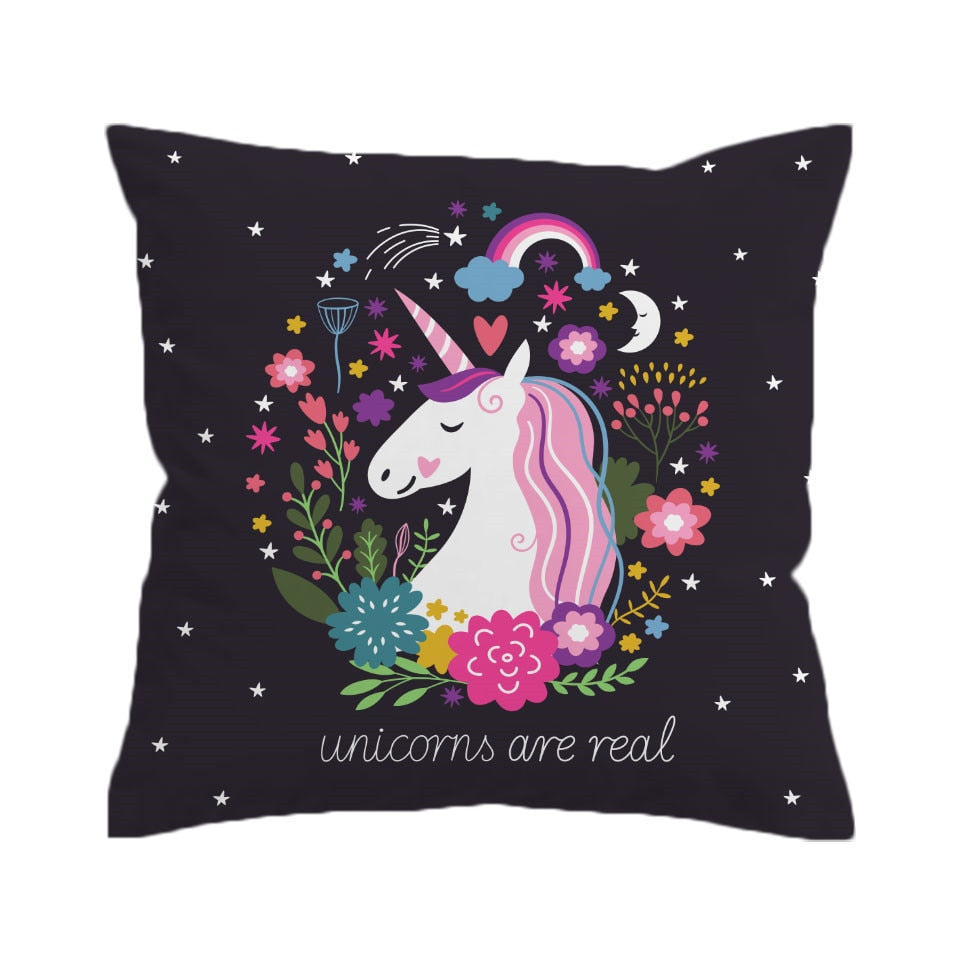 Unicorn Cushion Cover Pillow Case