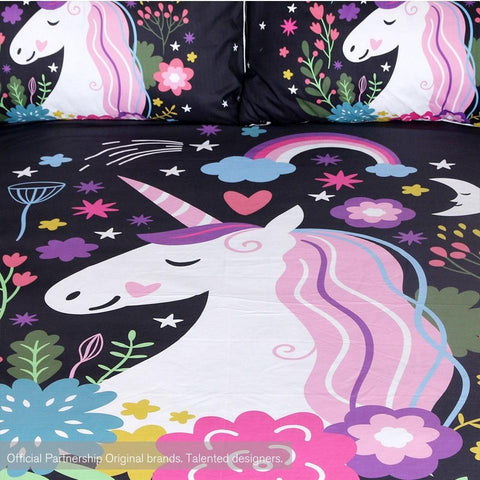 Unicorns Are Real Bedding Set