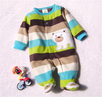 Winter Fleece Jumpsuit Overalls