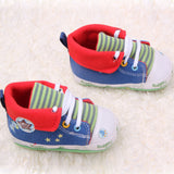 Cartoon Printed Baby Shoes