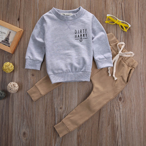 Dirty Harry 2pc Boys Clothes Set