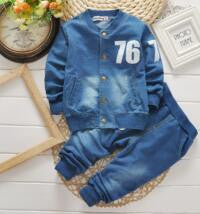 New Denim Jeans Suit - 2 Plus 1 Baby