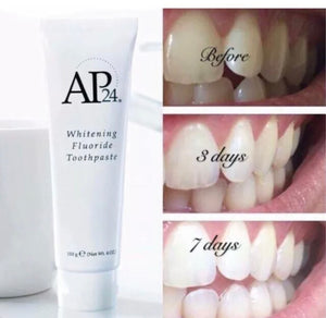 AP 24® Anti-Plaque Fluoride Toothpaste Helps Prevent Cavities