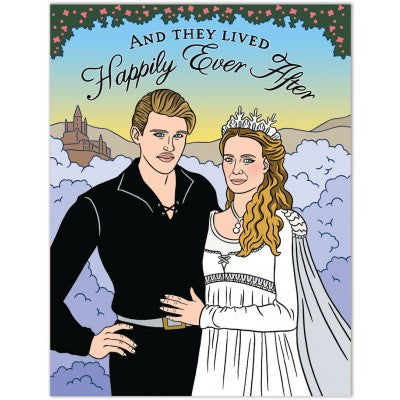 The Princess Bride Wedding Greeting Card