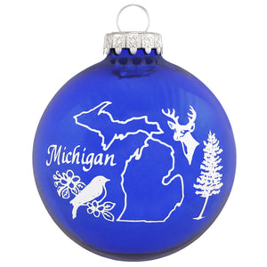 Bronners Christmas Michigan Ornament -Pick a design!