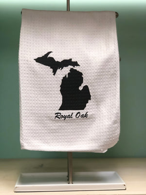 Royal Oak Michigan Kitchen Tea Towel