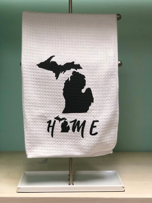 Michigan Home Kitchen Tea Towel
