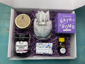 Mom's Pampering Made In Michigan Basket