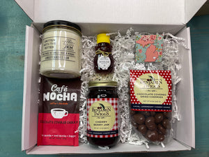 Cherry and Candles Michigan Gift Basket
