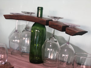 Barrel Wine Butler for 4 Glasses