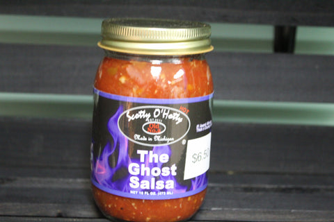 Scotty O'Hotty The Ghost Salsa 16fl oz