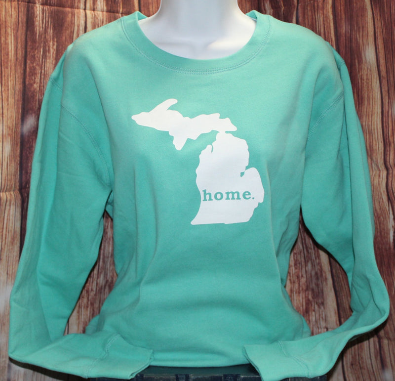 Teal Home Sweat Shirt