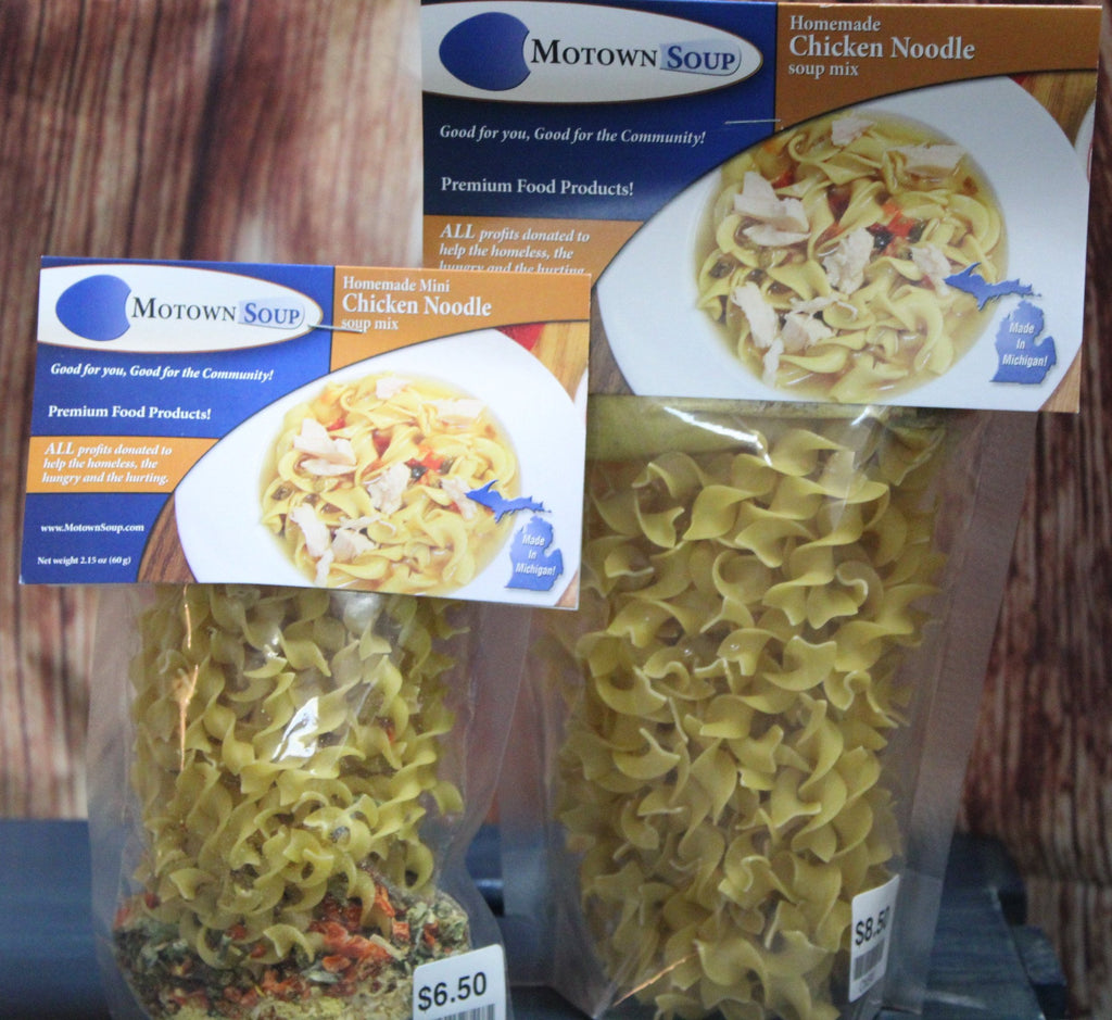 Motown Soups - Homemade Chicken Noodle Soup Mix