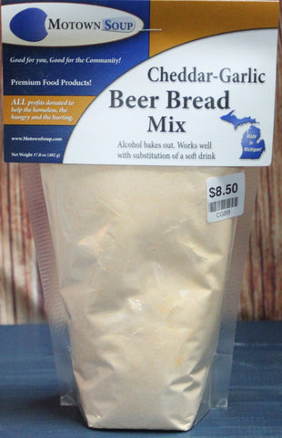Motown Soups - Cheddar-Garlic Beer Bread Mix