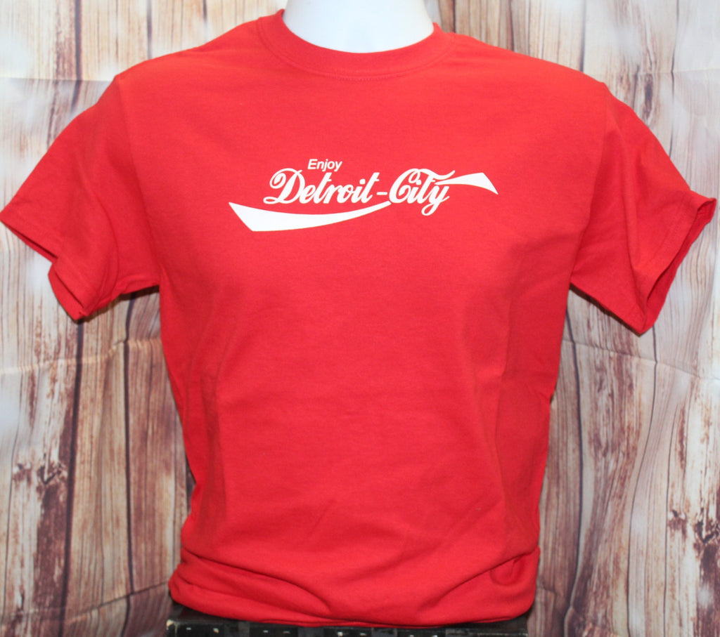 "Men's ""Enjoy Detroit City"" Tee Shirt"