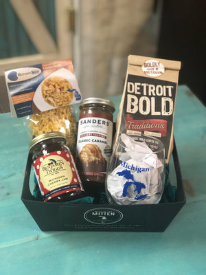 Classic Michigan Gift Basket