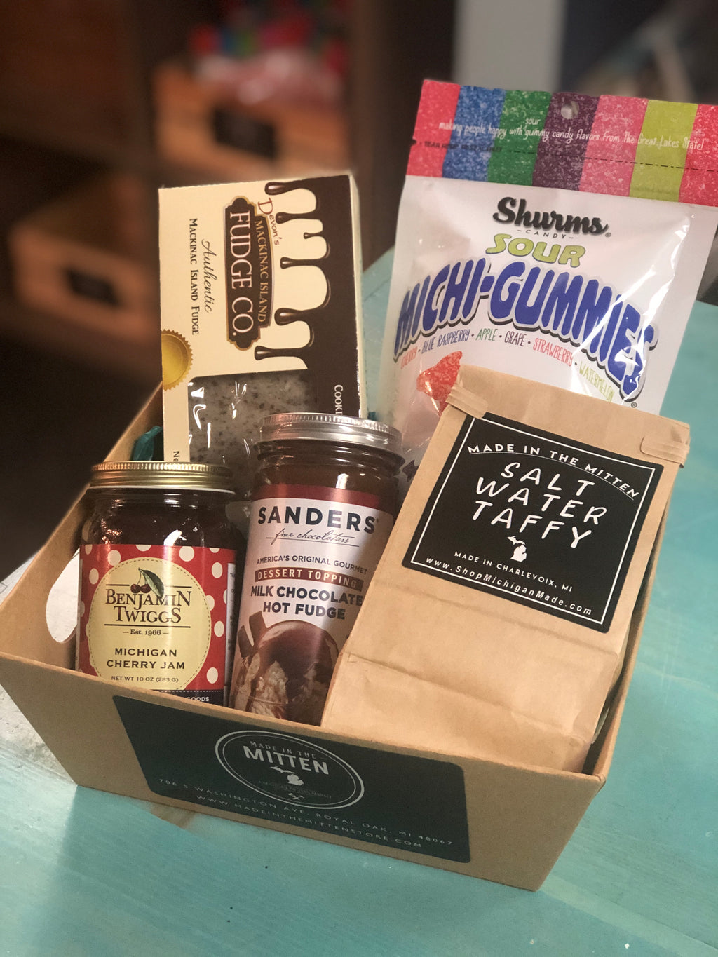 Michigan Candy and Sweets Gift Basket