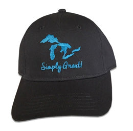 Michigan Simply Great Lakes Unisex Hat