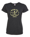 Women's Detroit Motor City Spirit T-Shirt - Great Lakes Gift Co.