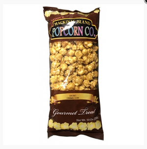 Sea Salt Caramel Popcorn - Mackinac Island