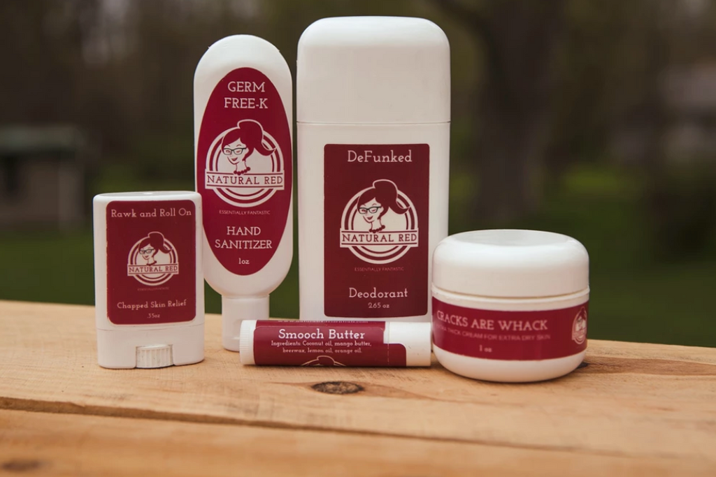 Natural Red Top 5 Product Bundle