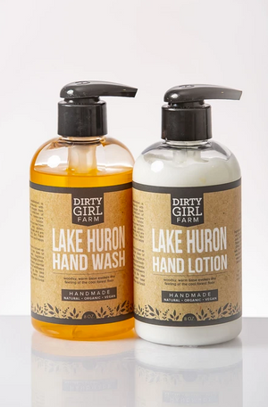Dirty Girl Farm Michigan Lake Huron Wash and Lotion Set