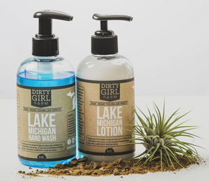 Dirty Girl Farm Lake Michigan Wash and Lotion Set