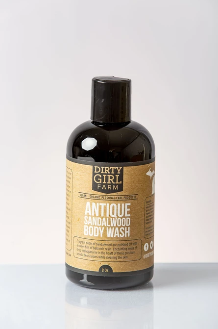 Dirty Girl Farm Antique Sandalwood Body Wash
