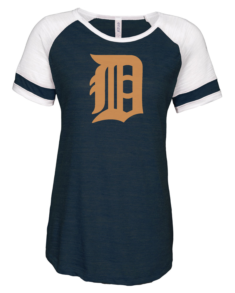 Ladies Detroit Tigers Baseball T-Shirt