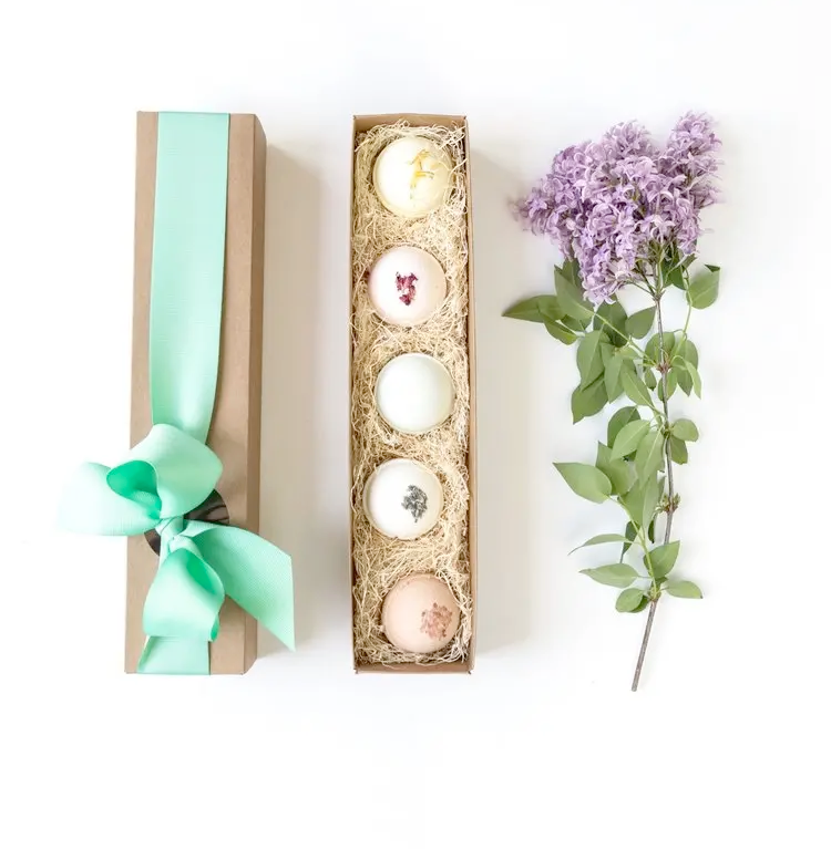 All Natural Bath Bombs Gift Set of 5