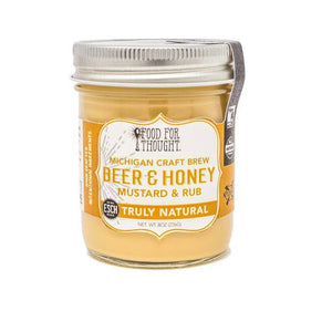 Truly Natural Beer and Honey Mustard