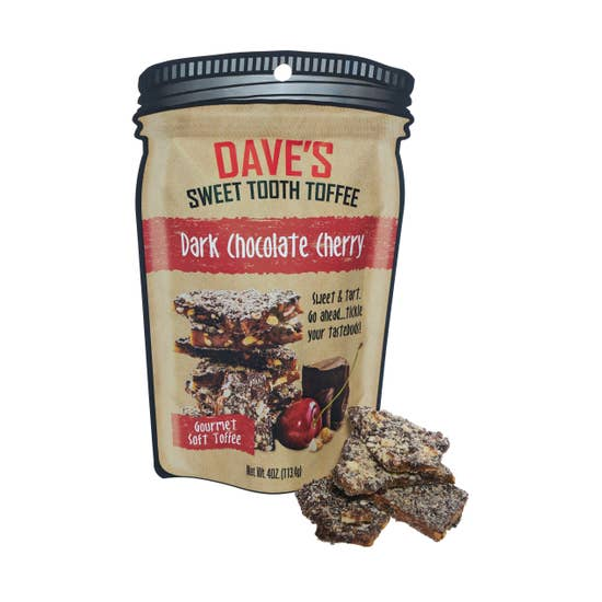 Dave's Sweet Tooth Dark Chocolate Cherry Toffee