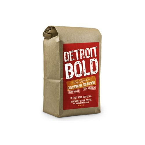 Detroit Bold Columbian Espresso Coffee