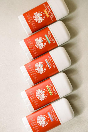 Natural Red Deodorant in Asstd. Scents