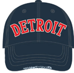 Navy / Red Detroit Unisex Hat