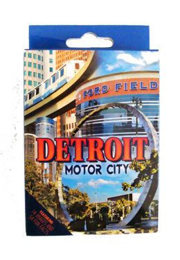 Detroit Fun Facts Playing Cards