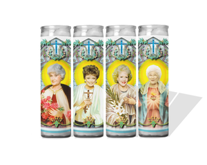 Golden Girls Prayer Candle Set of 4