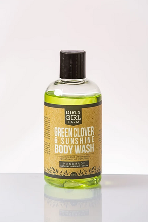 Dirty Girl Farm Green Clover and Sunshine Body Wash
