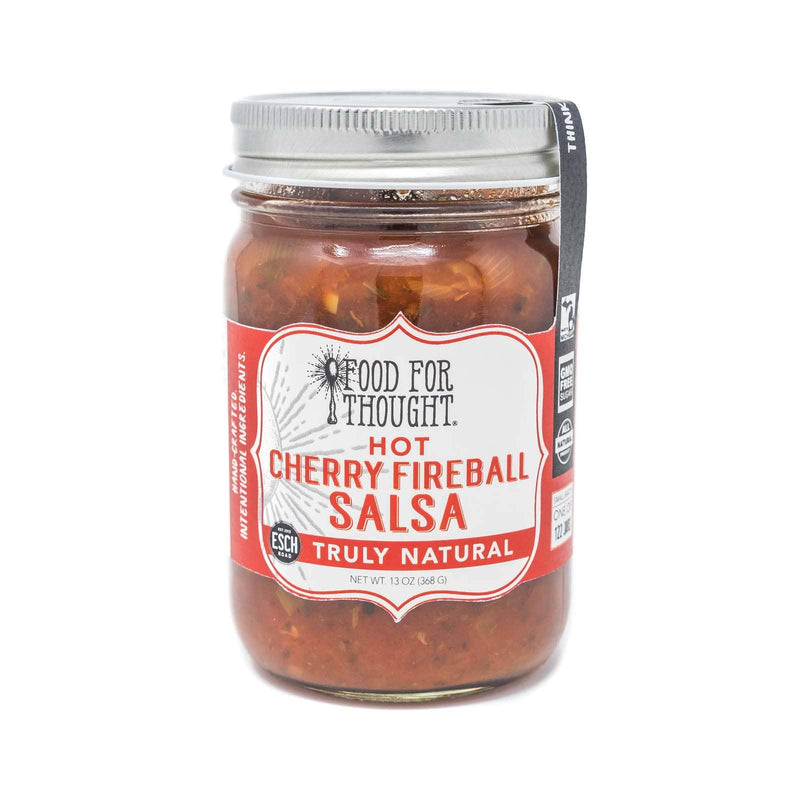 Truly Natural Hot Cherry Fireball Salsa
