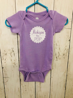 Michigan Has POP Baby Onesie