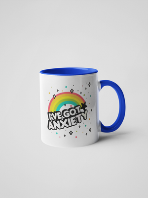 I've Got Anxiety - Rainbow Coffee Mug