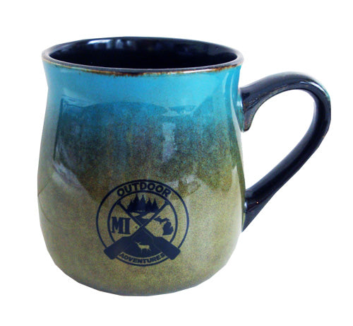 Michigan Outdoor Adventures Ceramic Mug
